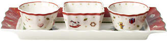 Villeroy & Boch Toy's Delight Set of 3 Dip Bowls with Tray