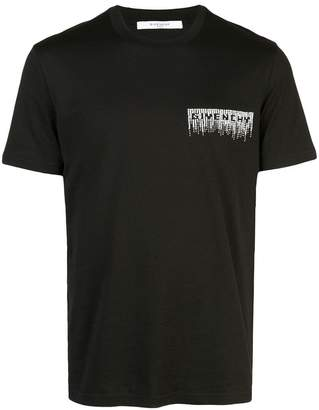 Givenchy sequin logo oversized T-shirt