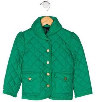 Ralph Lauren Boys' Quilted Collar Jacket