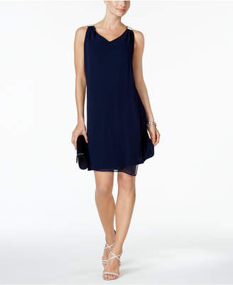 MSK Embellished Shift Dress $69 thestylecure.com