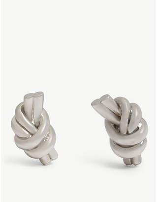 J.W.Anderson Knot eco brass earrings