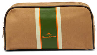 Tommy Bahama Striped Canvas Travel Case