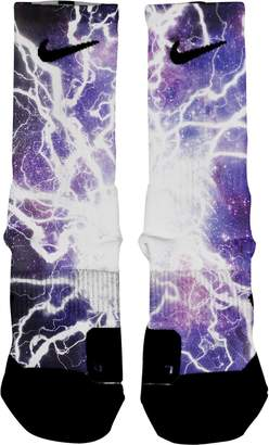 Nike HoopSwagg Lightning Galaxy Custom Elite Socks