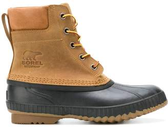 Sorel lace-up ankle boots
