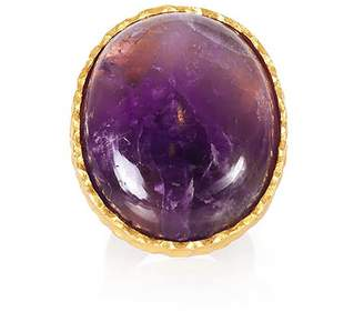 Christina Greene Statement Ring in Amethyst