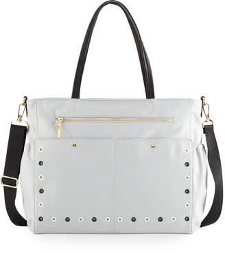 Milly Grommet Diaper Bag, Gray