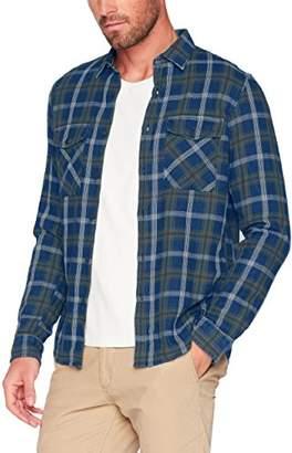 Tom Tailor Men's Indigo Check Casual Shirt