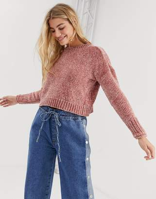 Only Dicte chenille soft jumper