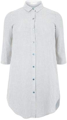 Eileen Fisher Striped Shirt Dress