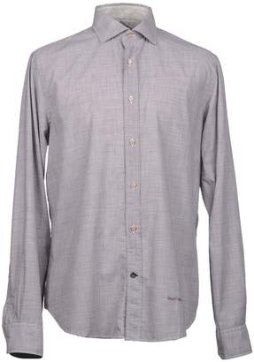 Henry Cotton's Long sleeve shirts