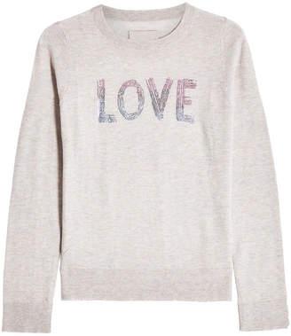 Zadig & Voltaire Embellished Cashmere Pullover