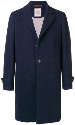 Eleventy buttoned mid-length coat