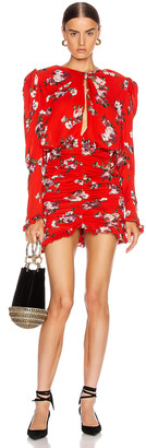 Magda Butrym Barletta Dress in Red | FWRD