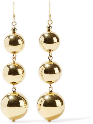 Gold-plated Earrings - one size