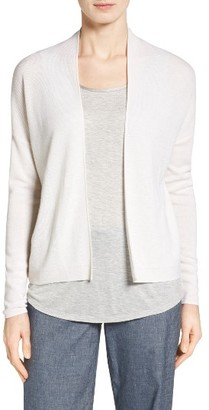 Women's Nordstrom Collection Pointelle Detail Cashmere Cardigan $249 thestylecure.com