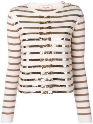 53ef206789c Sequin Knitwear Jumper - ShopStyle UK