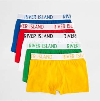 River Island Red multi colored hipster multipack