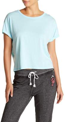 Betsey Johnson Back Crisscross Short Sleeve Tee