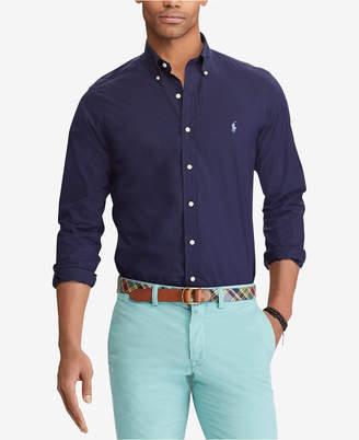 Polo Ralph Lauren Men Slim Fit Poplin Shirt