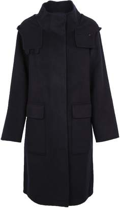 Theory Hooded Duffle Coat