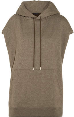 ATM Anthony Thomas Melillo Cotton-blend Hooded Top - Army green