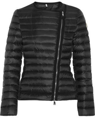 Moncler - Amy Quilted Shell Down Jacket - Black $995 thestylecure.com