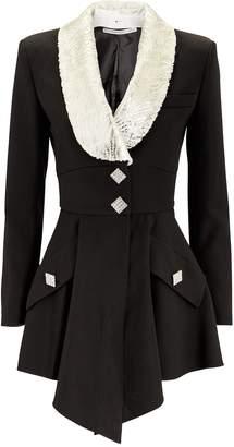 Hourglass Alessandra Rich Crystal Mini Dress