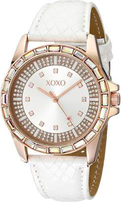 XOXO Women's XO3415 Analog Display Analog Quartz Watch