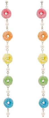 Venessa Arizaga Cereal earrings