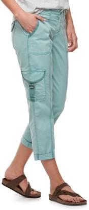Sonoma Goods For Life Women's SONOMA Goods for Life Ultra Comfortwaist Utility Capri Pants