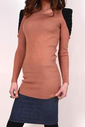 Private Label Ribbed Shoulder Sweater