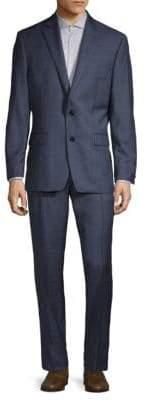 Lauren Ralph Lauren Checkered Wool Suit