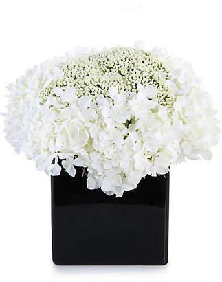 "John-Richard Collection 11"" Hydrangeas in Vase - Faux"