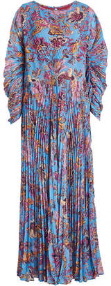 Etro Pleated Print Dress