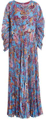 Etro Pleated Print Dress