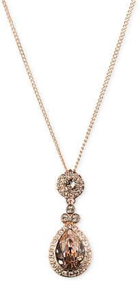 Givenchy Necklace, Swarovski Element Teardrop Pendant