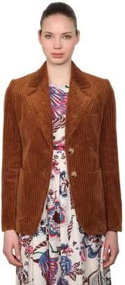 Tory Burch Cotton Velvet Corduroy Blazer