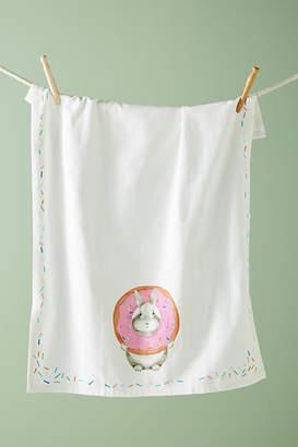 Dear Hancock Donut Bunny Dish Towel