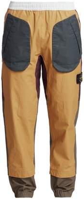 Stone Island Tri-Color Tapered Cargo Pants
