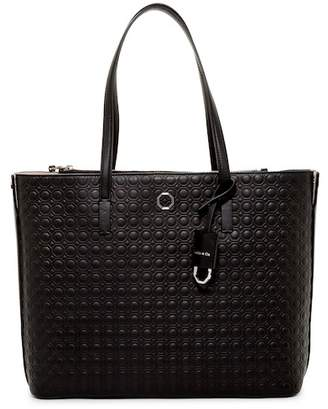 Louise et Cie Elay Leather Zip Pocket Tote