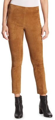 Vince Stretch Suede Pant