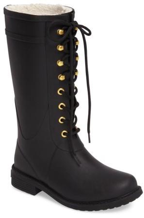 Women's Sam Edelman Kay Lace-Up Rain Boot