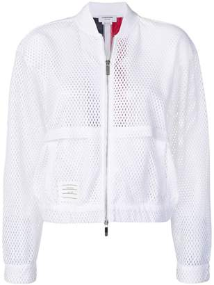 Thom Browne tricolour bomber jacket