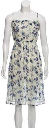 Reformation Sleeveless Floral Dress