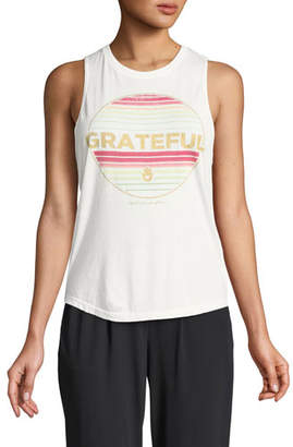 Spiritual Gangster Grateful Graphic Muscle Tank