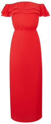 Oasis Long Bardot Midi Dress