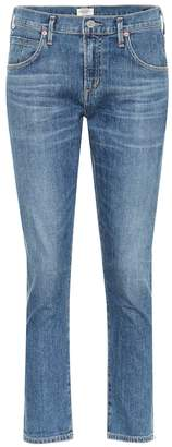 Citizens of Humanity Elsa mid-rise cropped slim jeans