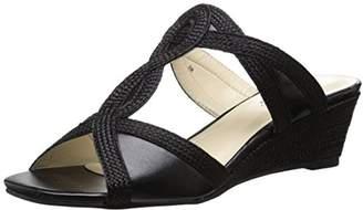 Annie Shoes Women's ADEA Wedge Sandal $19.32 thestylecure.com
