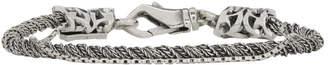 Emanuele Bicocchi Silver Rope Torsion Bracelet