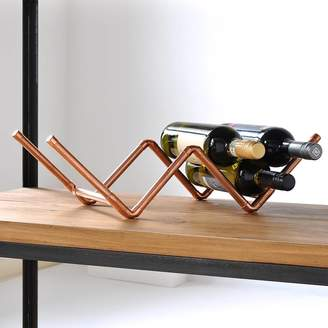 Rails MöA Design Copper Wine Rack